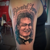 Liquid Silver Tattoo on Hoddle