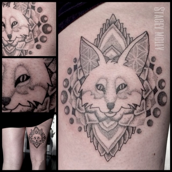 Stacey molly liquid silver for Silver fox tattoo